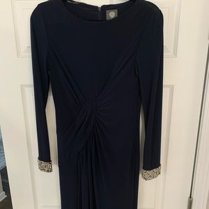 Vince Camuto Navy Gown